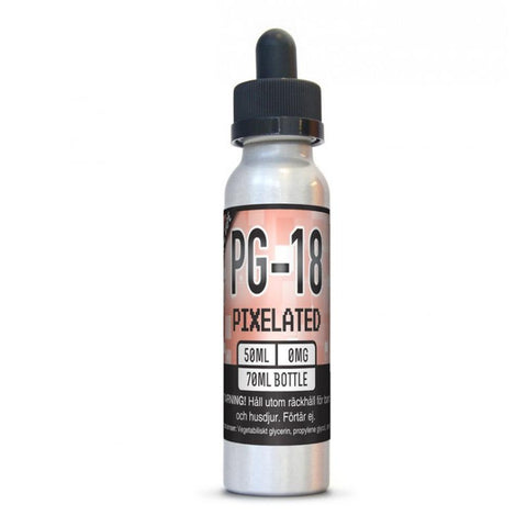 X2O  PG-18 Pixelated has a peach and apricot sweet tea flavor, all you need now is a hammock (hammock not included)