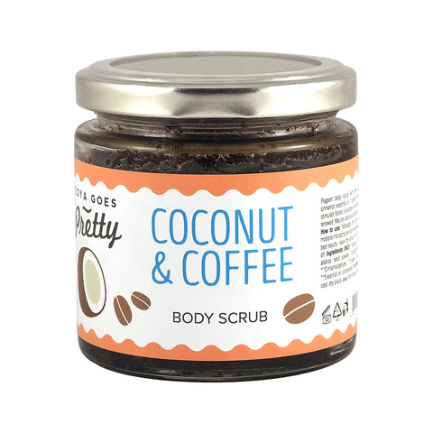 Coconut & Coffee Body Scrub 椰子咖啡身體磨砂 200g