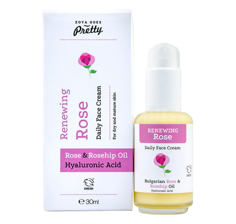 Renewing Rose Daily Face Cream 玫瑰修復保濕面霜 30ml