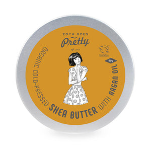 Shea Butter with Argan Oil - Cold-pressed & Organic 有機冷壓深層滋潤乳木果油 90g