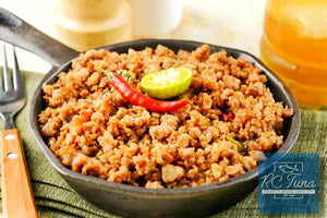 "Tuna Sisig ""The Bomb"""