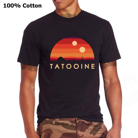 Visit Tatooine Retro T-Shirt