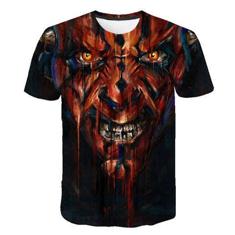 3D Maul Close Up T-Shirt