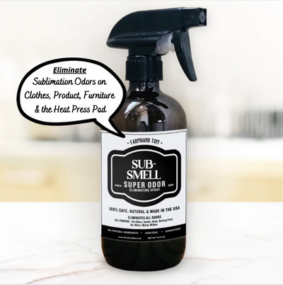 SUB-SMELL | Super Odor Eliminating Spray for Sublimation