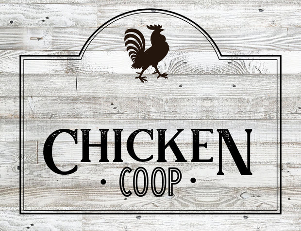 *Personalized* Chicken Coop Sign | Made in the USA | Delivered in 2-5 Days