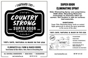 COUNTRY STRONG | All-Purpose | Super Odor Eliminator Spray