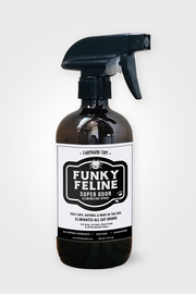FUNKY FELINE for Cat Owners | Super Odor Eliminating Spray | All-Purpose