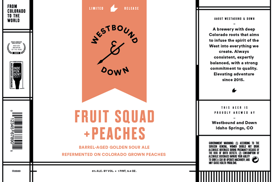 Fruit Squad + Peaches