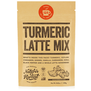 TURMERIC LATTE MIX 125 Serves 250g Refill Pack
