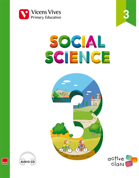 Social Science 3 + Cd (Active Class)