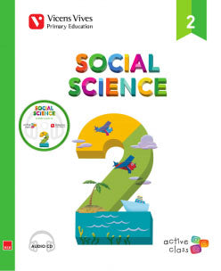 Social Science 2 + Cd (Active Class)