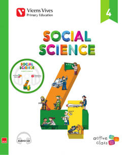 Social Science 4 + Cd (Active Class)