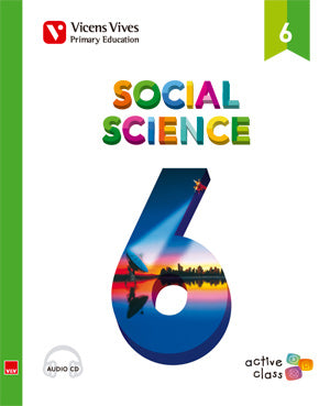 Social Science 6 + Cd (Active Class)