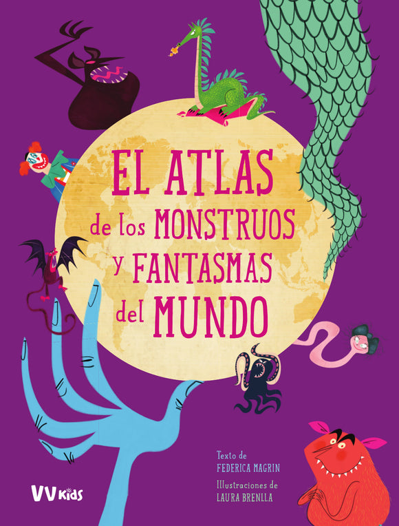Atlas De Los Monstruos Y Fantasmas