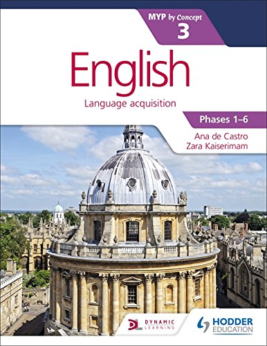 English Myp 3 (Ib Diploma)