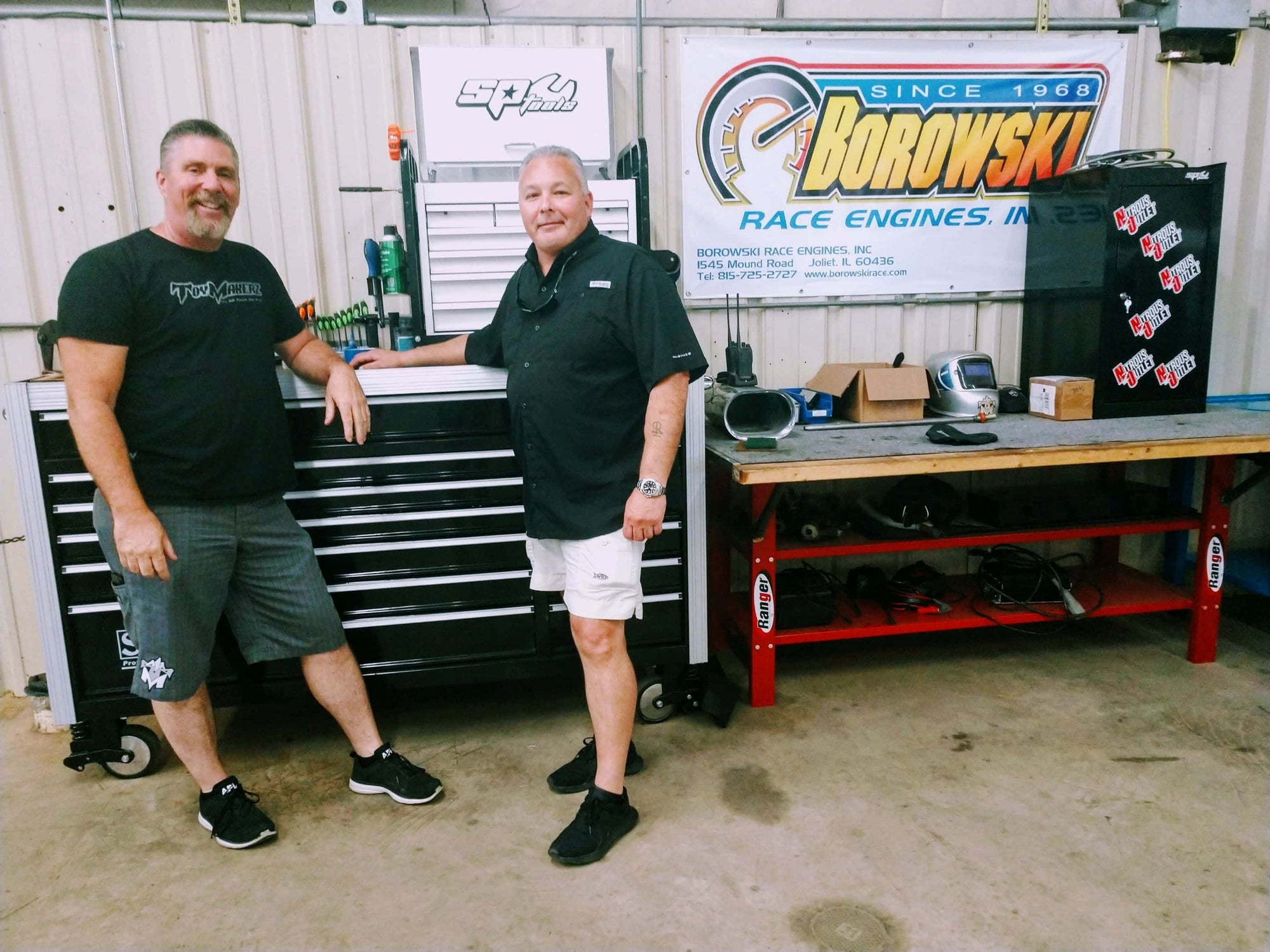 SP Tools USA official Sponsor of Toymakerz
