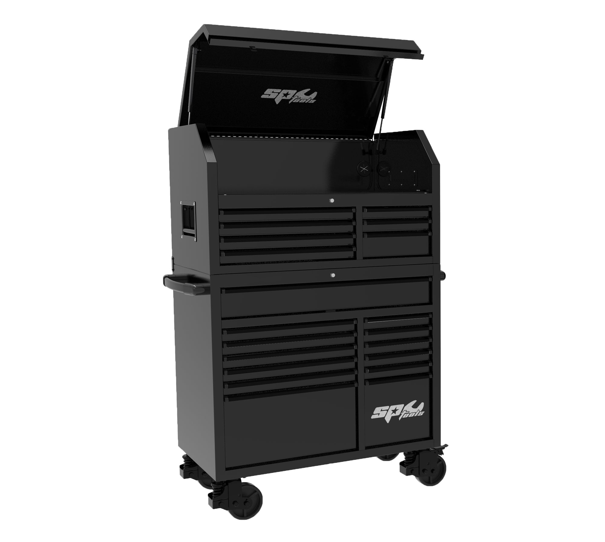 "42"" SUMO TRADE  Work Station Toolbox Black with Black Trim"