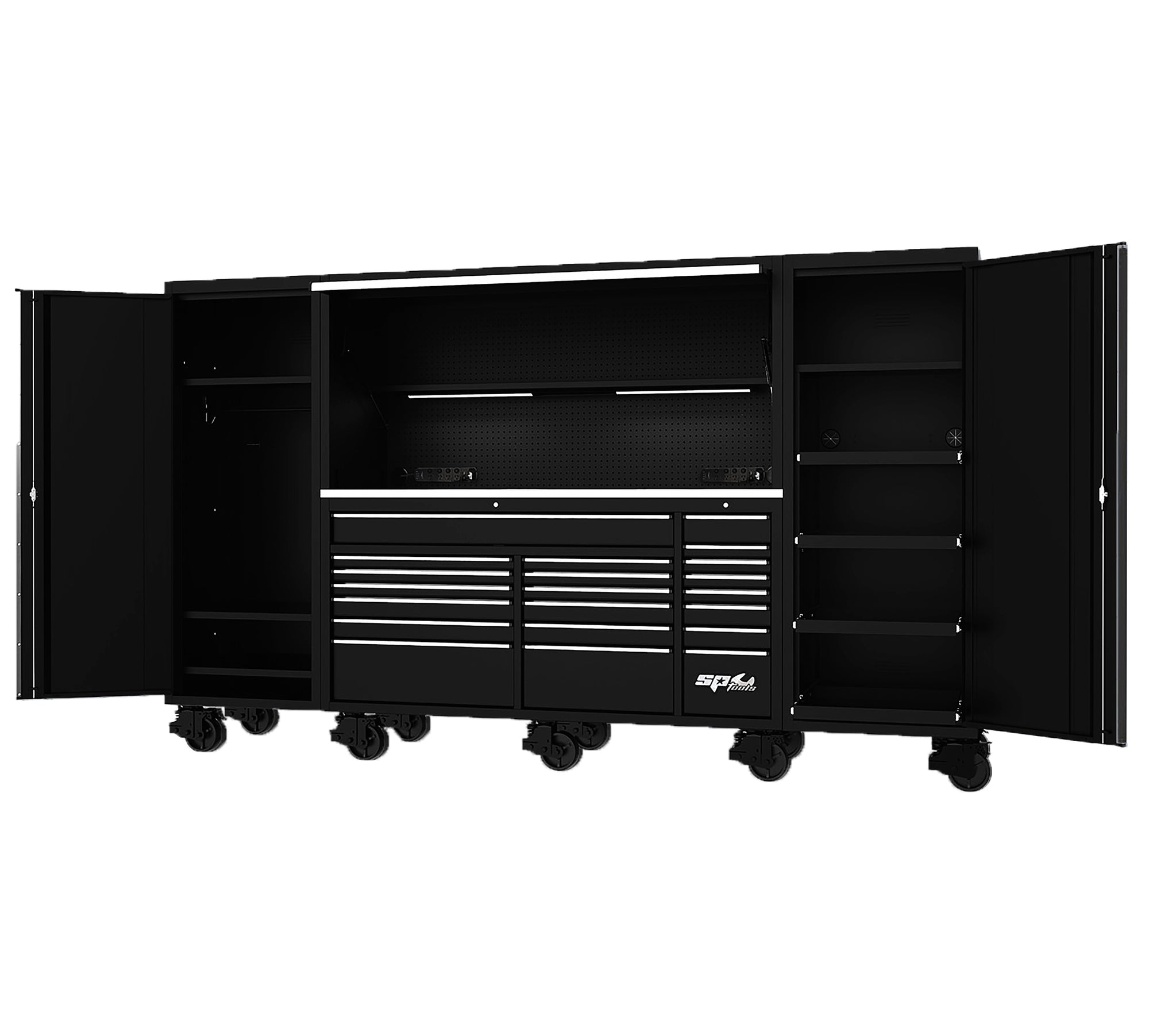 "128"" USA SUMO SERIES COMPLETE WORKSTATION - BLACK"