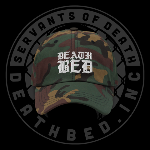 DB Death Is Calling Dad Hat (Camo Edition)