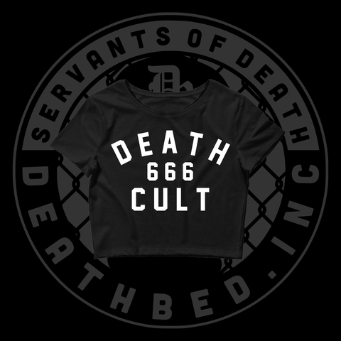 DB Death Cult Women's Crop Tee