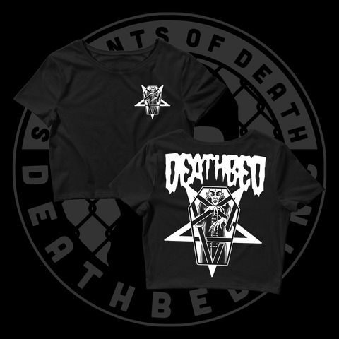 DB Death Vampire Women's Crop Tee