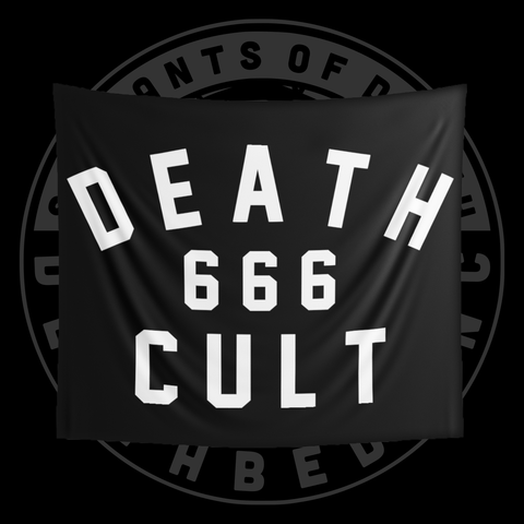 DB Death Cult Wall Flag