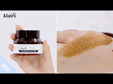 Gentle Black Sugar Facial Polish | 110g