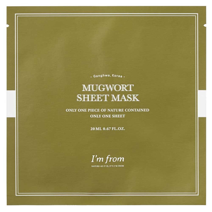 Mugwort Sheet Mask | 23ml X 1 sheet