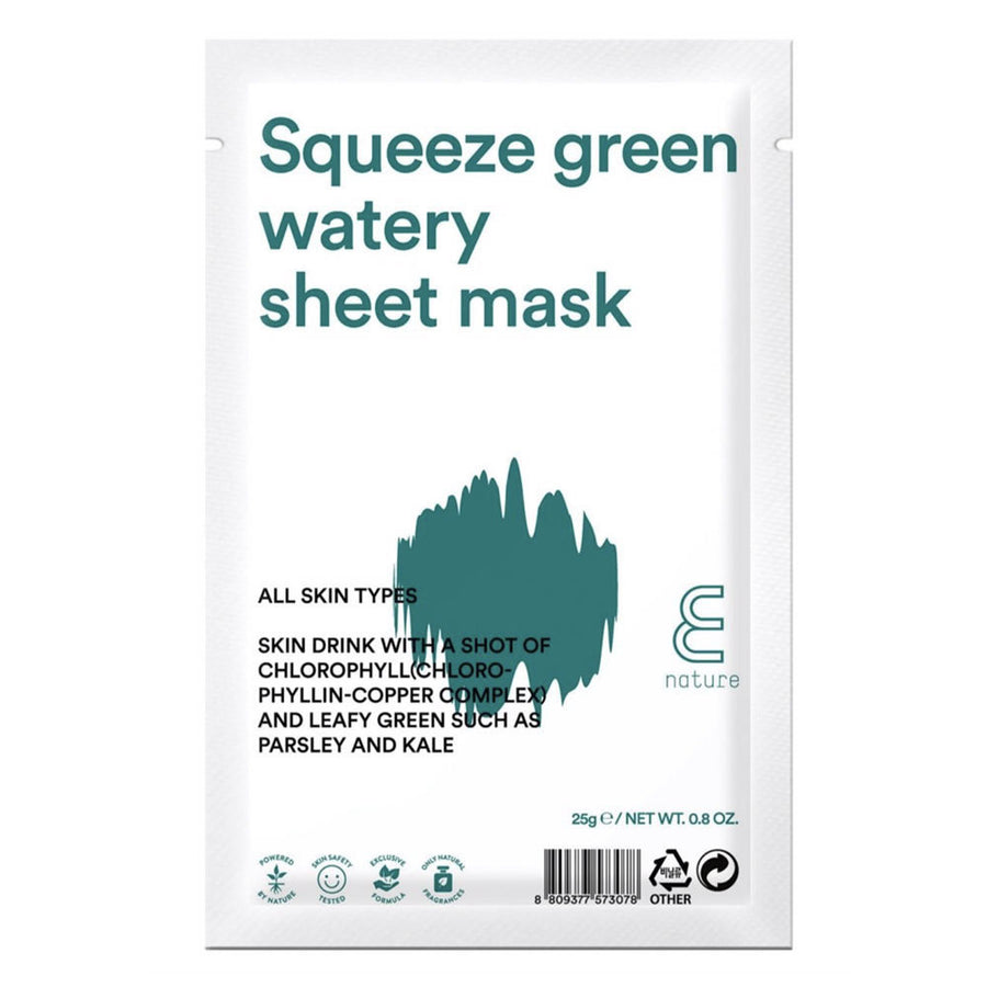 SQUEEZE GREEN WATERY MASK