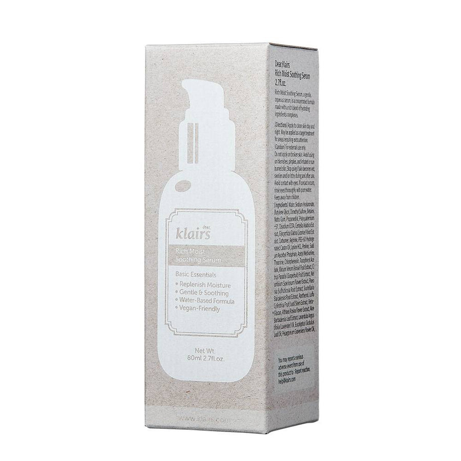 Rich Moist Soothing Serum | 60ml