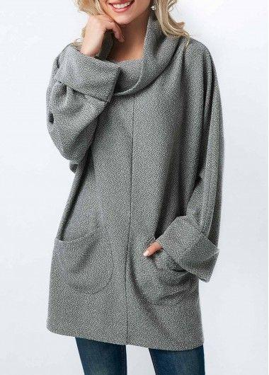 Women'S Fashion Casual Long Sleeve Cotton Sweater