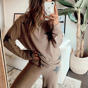 Women;S Halloween Long-Sleeved Trousers Home Suit