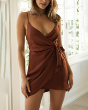 Slim And Elegant Sexy Party Mini Dress
