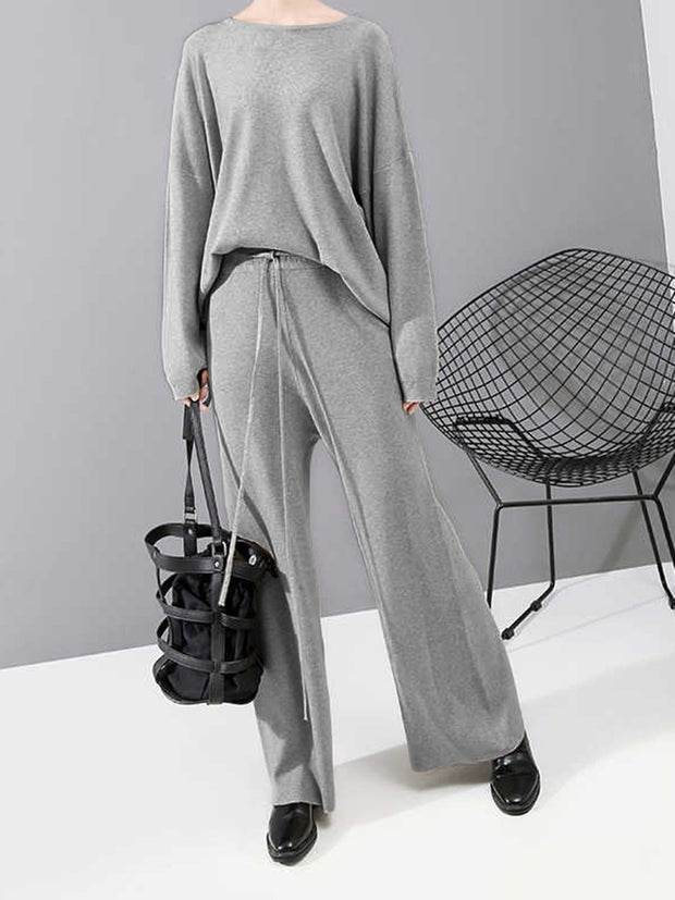 Women'S Round Neck Loose Casual Woman'S Suit
