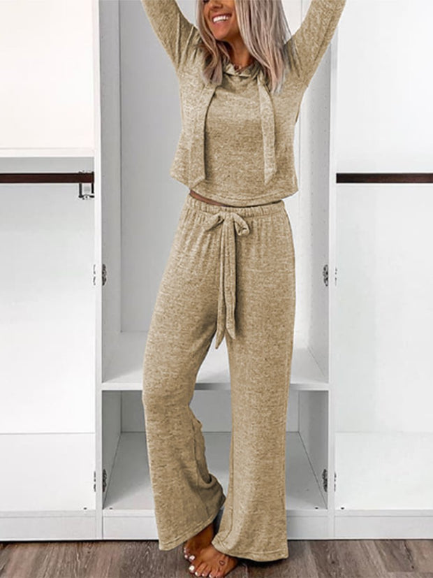 Woman's Casual Knitted Suits