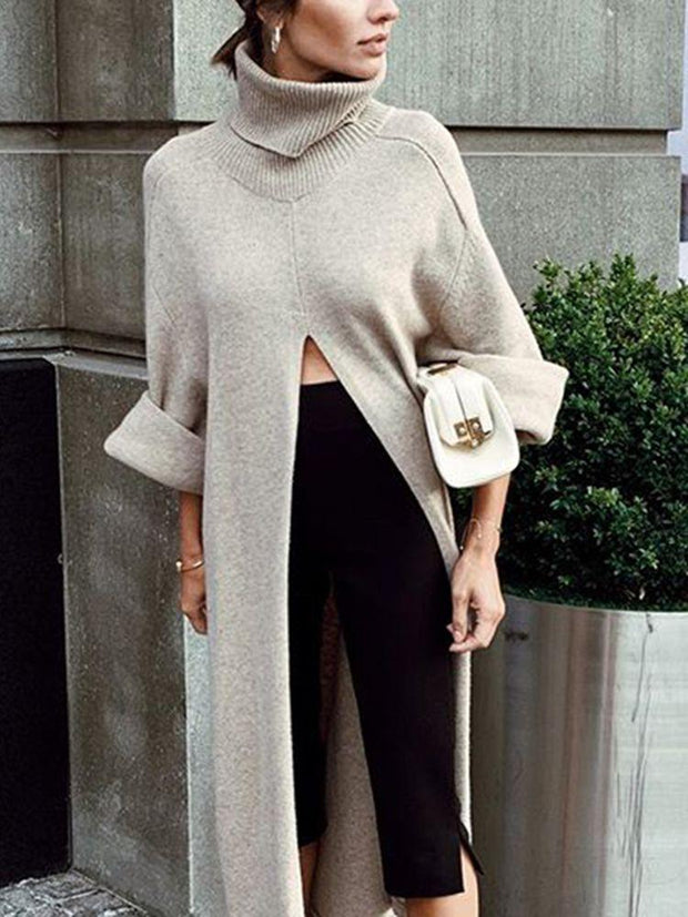 Women'S Fashion Loose Long Sweater