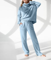 Women'S Fashion  Comfy  Knitted Wool Sports Suit