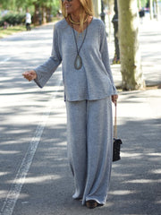 Women'S Chartres Knit Two Piece Suit