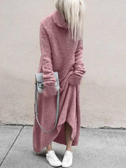 Women'S Fashion Warm Sweater Dress