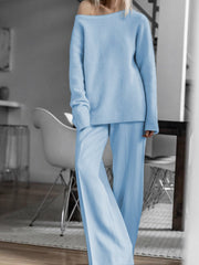 Women'S Halloween Simple Casual Loose Long Sleeved Top Pants Suit