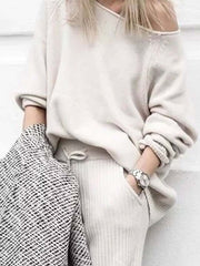 Women'S Fashion And Comfortable Casual Sweater Suit