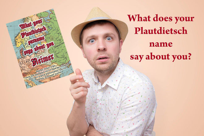 What your Plautditsch name says about you?