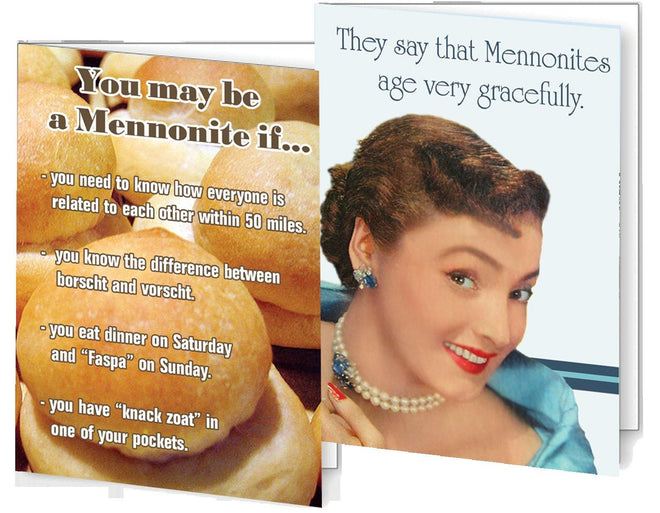 Funny Mennonite Greeting Cards