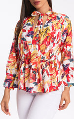 SUNRISE DRAMATIC BLOUSE