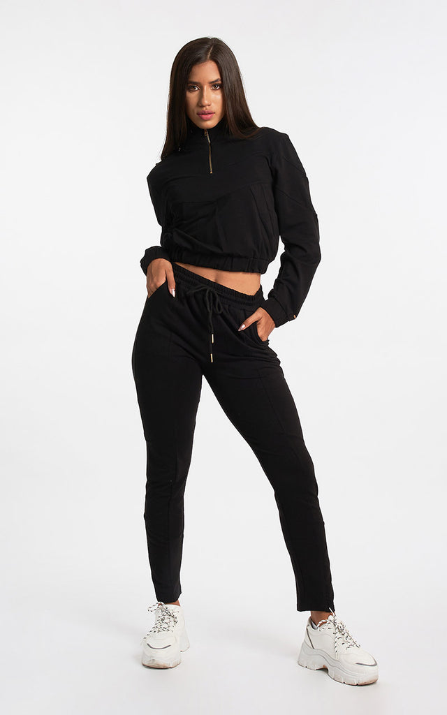 BLACK VIBES TRACK SUIT