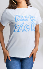 Keep it fácil T-shirt