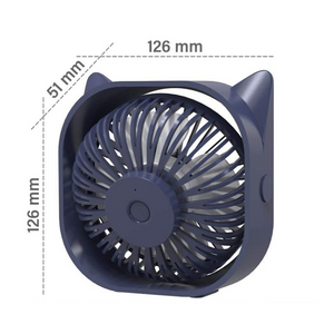 Portable Small Car Seat Cooling Fan 12V