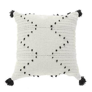 Aziza Embroidered Cushion Cover with Tassels