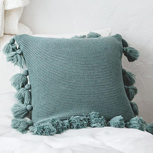 Biella Tassel Cushion Cover