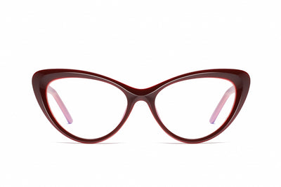 Bprotectedstore_Cleo_Anti-Blue_Light_Cats_Eye_Maroon&Pink_Front